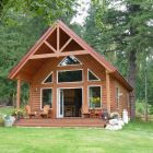 Newly Built Luxury Guest Cabin - Wonderfully Appointed Cabin Overlooking Orchard, Kootenay Lake and Kokanee Glacier.