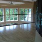 Loft and Curved Glass Railing