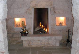 THE OLD FIREPLACE