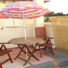 Roof Terrace - Terrace on the Roof Top with Table and Chairs