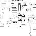 Floorplan of this 3br 3ba Unit-a First and Second Level Unit