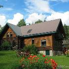 Mountain Log Home