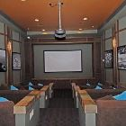 Picture #6 - Part of the Great Room in the Main Clubhouse - Movie Theatre #1  - each of the 2 Clubhouses has its Own Movie Theatre as Well as 500+ Dvds you Can Use for Free and as much Popcorn as you Can Eat.