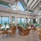 Large Living Room Area with Panaoramic Views of Ocean