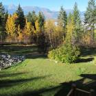 Gorgeous Mountain View - from the Hot Tub Deck Over-looking the Yard