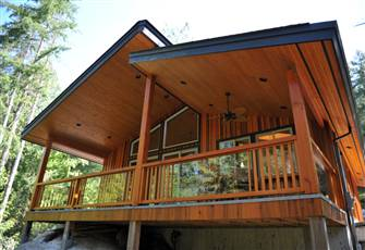 Beautiful New Cottage on the Sunshine Coast of B.C.