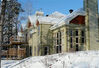 Beautiful Property on Le Bete Golf Course in Mont Tremblant