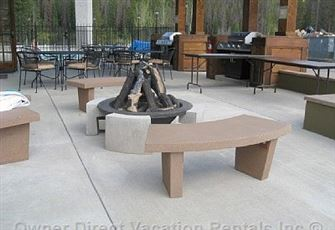 Firepit at the Clubhouse