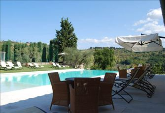 Delightful Split Level Apartment on Gorgeous Chianti Estate.