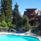 Enjoy a Heated Year round Pool, Hot Tub and Sauna at Glaciers Reach