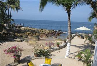 Villa with Private Beach Puerto Vallarta- New Rates!!!!