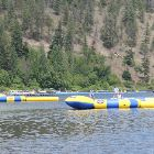 Aqua Park - Paddle a Kyak, Try the Trampoline Or Simply Lay out on one of the many Decks.