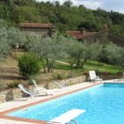 Pool and Part of the Village - the Pool Sits along Side the Ancient Village and Provides Great Views of the Valley and Surrounding Tuscan Countryside.