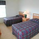 Twin Bedroom with 1 Double Bed and 1 Single Bed