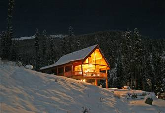 Luxury Cedar Log Chalets 2