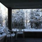 Deck in Winter