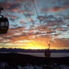 Big White Sunset