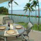 Spacious Lanai-table and Six Chairs--Casual Dining at its Best