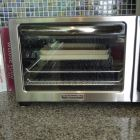 Kitchenaid Toaster Oven (with Pampered Chef Stoneware Trays inside)