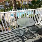 Upstairs Master Balcony with View of Community Pool