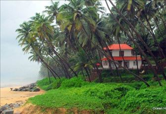 Kerala Seaside Holiday Rental - Ocean Hues Beach House, Kannur