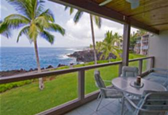 Ocean Front Condo in Keauhou Watch the Whales and Dolphins from your Lanai