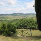 Panorama Towards Montepulciano