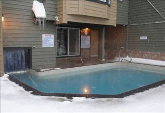 Outdoor Portion of Hot Tub