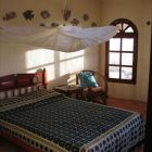 Bedroom 2 Upstairs. - the Queen-size Bed is Set up with a Pavilion-style Mosquito Net, which Can be Lowered in Case a Bug Penetrated the Window Screens. a Roll-out Bed for one Person (Small Adult Or Child) is Hidden below the Double Bed. the Sea-breeze Usually Provides Cool Air for a Comfortable Sleep. for Rare Wind-less Nights Ceiling Fans Can be Used.