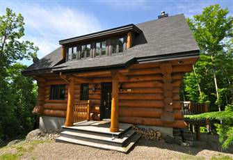 Mountain Top Log Cabin