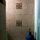 On the Third Floor, a Beautiful Tiled Bathroom.