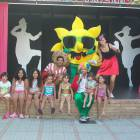 Our Kids Enjoy themselves with the Mascot