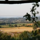 Panoramic View over Tuscan Landscape