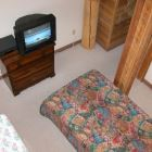 Carpeted Bedroom- TV & VCR, Photo Taken from Mini-Loft