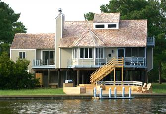 Luxury 4 Bed/4 Bath Chincoteague is Waterfront Vacation House - See the Ponies!