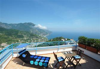 Apartment in Ravello with Breathtaking Views