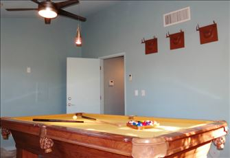 Billiards Table in Clubhouse