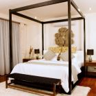 Master Bedroom with Four Poster Bed