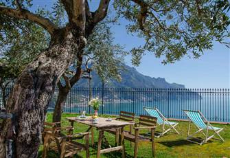 A Charming Villa Located with a Great View of the Amalfi Coast