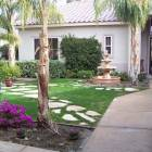 Gated and Private Court Yard with Beautiful Fountain.