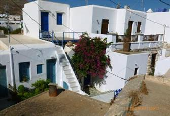 Greece-Cyclades- Folefandros-Studio for 3 People