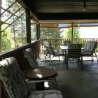 Massive Covered Deck with Broil King Bbq