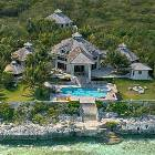 Aerial View of the Luxury Villa