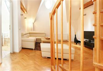 Luxury Duplex Apartment (3 BR & 2 BA) - Best Value - Prague Central - Andel Area