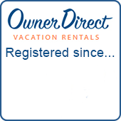Registered with Owner Direct Vacation Rentals