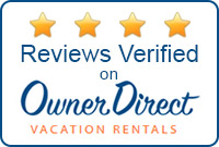 Verified 4 stars on Owner Direct Vacation Rentals