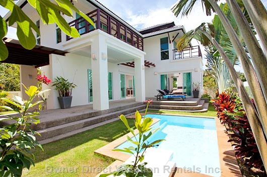 Comfortable villa in a private and tranquil setting