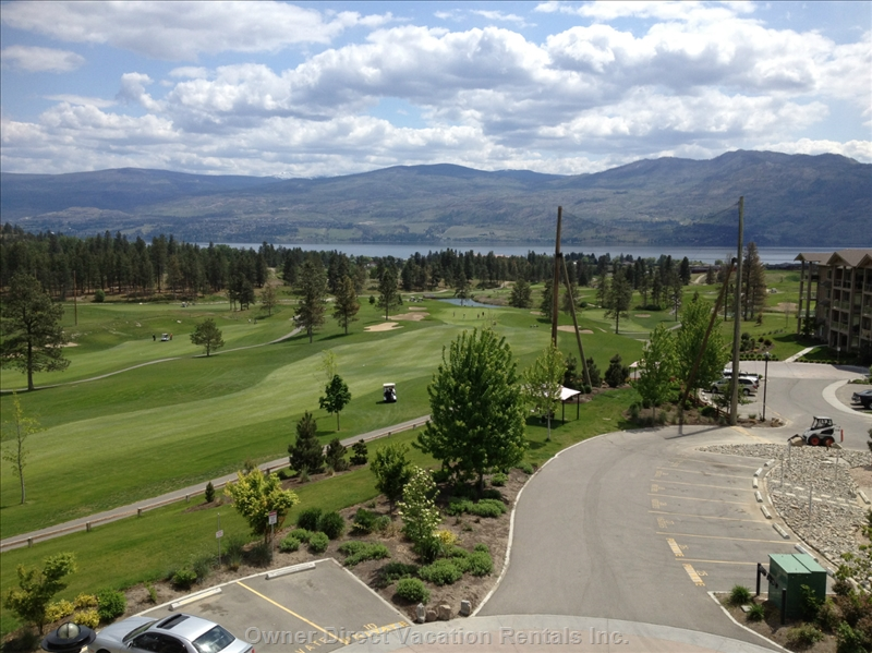 Condo located in the golf course in West Kelowna