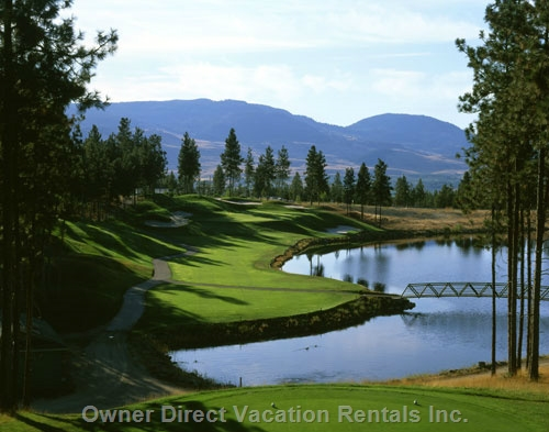 Luxury golf vacation in the Okanagan