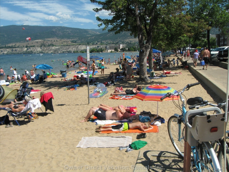 Swim at the famous Penticton beaches